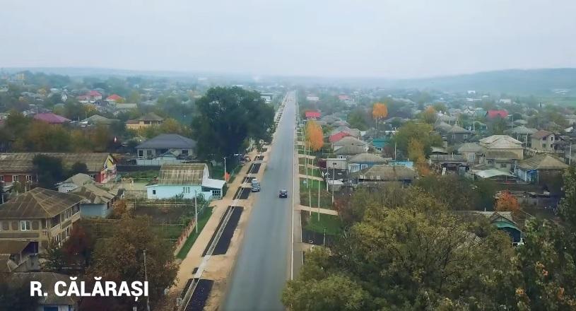 Каларашский район идёт голосовать за Додона: Благодаря ему в сёлах отремонтировали дороги (ВИДЕО)