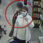 Присвоила забытый покупателем в магазине телефон: полиция ищет нарушительницу (ВИДЕО)