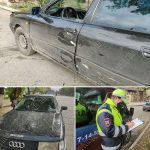 Курьёзный инцидент: водитель покинул место ДТП, но опомнился и вернулся назад