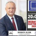 Игорь Додон по-прежнему готов к дебатам: Жду прихода моего оппонента на нейтральную площадку
