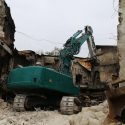 В столице продолжают демонтировать аварийные конструкции филармонии