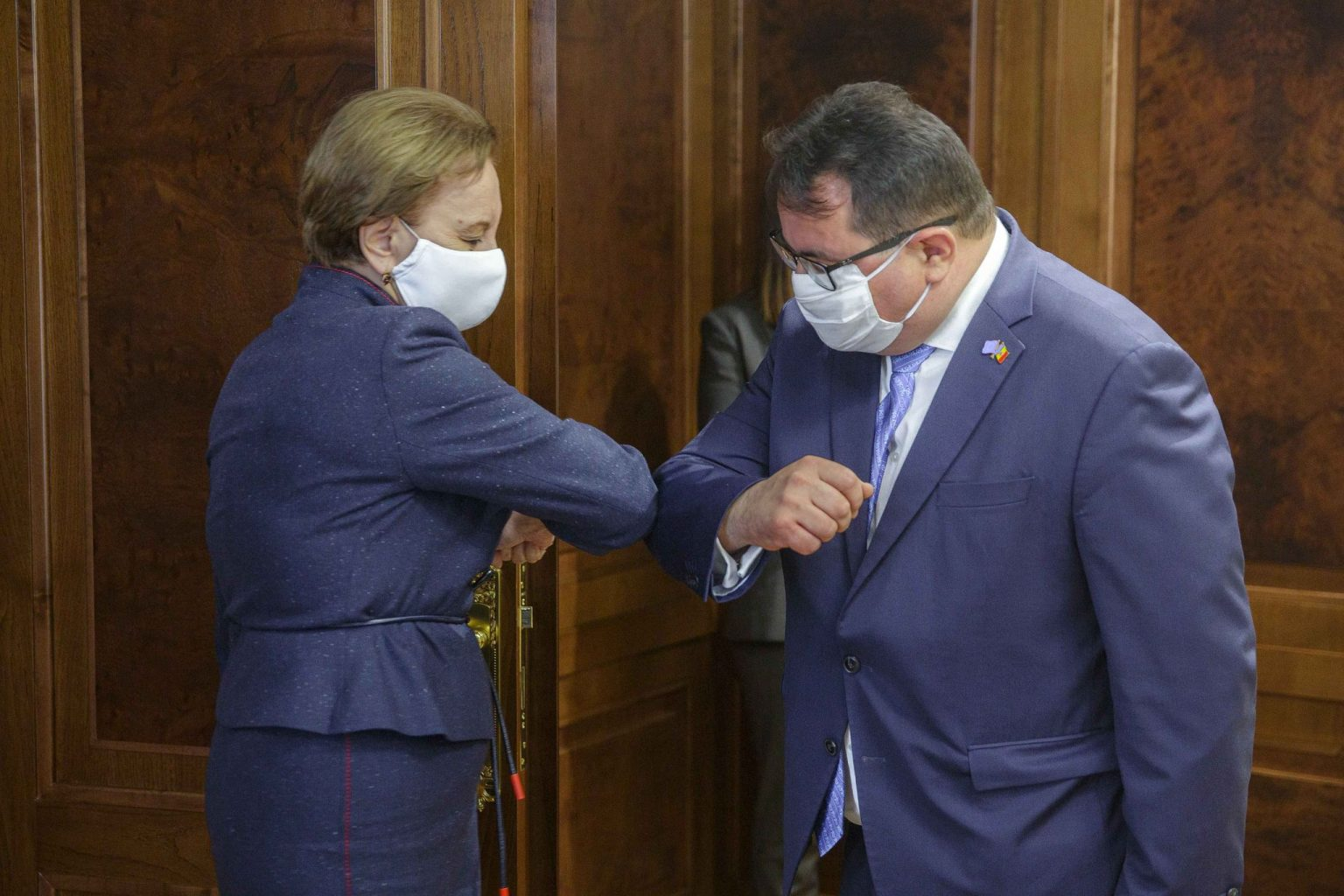 Зинаида Гречаный провела встречу с главой делегации ЕС в Молдове