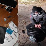 Житель столицы с наркотиками в кармане попался патрульным