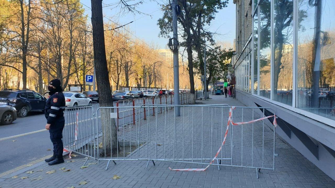 Важно! Одну из остановок в центре Кишинёва временно переместили