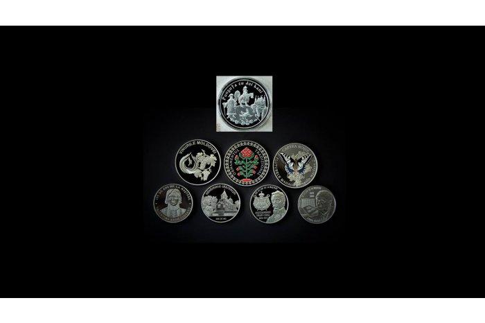 Нацбанк ввёл в обращение 8 памятных и юбилейных монет
