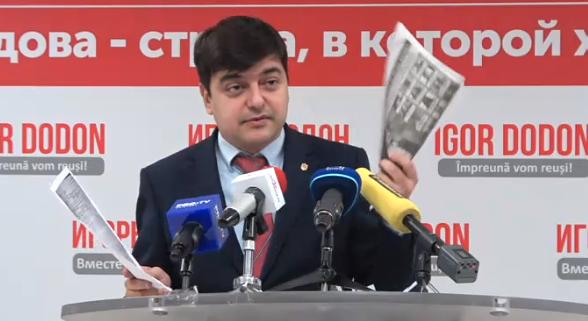Неучтённый тираж и всего 21 бан за газету: Вартанян разоблачил новые махинации штаба Санду (ВИДЕО, ФОТО)