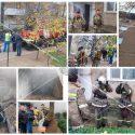 В Дубоссарах целых 5 часов тушили пожар в многоэтажке. Жильцов эвакуировали