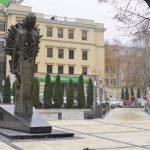 """Отремонтированный сквер """"Михай Эминеску"""" открыт. Чебан: Он уникальный и современный"""