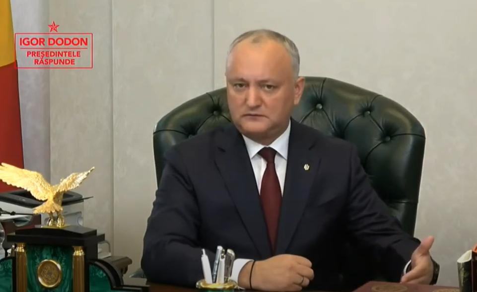 Додон: Перебежчиков в ПСРМ не примем. На этом этапе в парламенте нет никакой коалиции и вряд ли будет до конца этого года (ВИДЕО)