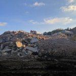 В Атаках ведут работы по расчистке территории после сноса аварийной многоэтажки