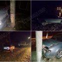 """""""Взял покататься"""": мужчина влетел в столб на чужом авто и сбежал с места аварии"""