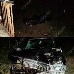Пьяный водитель упал с моста. В салоне машины был и пассажир