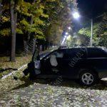 """Авария в Каменке: водитель """"подшофе"""" врезался в дерево"""