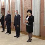 Новые министры принесли присягу (ВИДЕО)