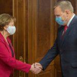 Зинаида Гречаный провела встречу с послом Украины в Молдове