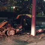 Жуткая авария в Каушанах: машину разорвало пополам, водитель погиб (ФОТО)