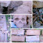 Сельчанин нашёл во время земляных работ боеприпасы и человеческие останки