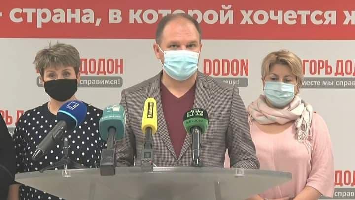 Мэры кишинёвских пригородов выразили поддержку Игорю Додону (ВИДЕО)