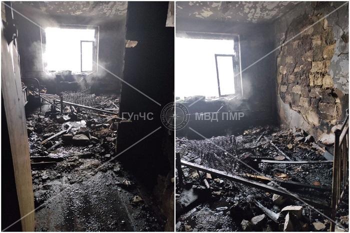 Труп пенсионера нашли спасатели во время тушения пожара