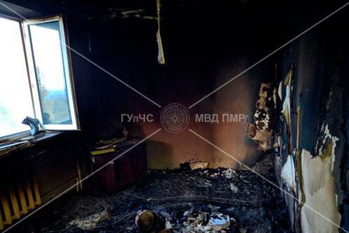 Курение привело к трагедии: при пожаре погиб мужчина