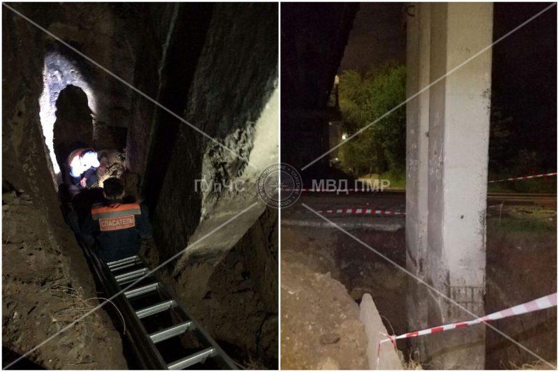 Мужчина получил травму в результате падения в 4-метровую яму