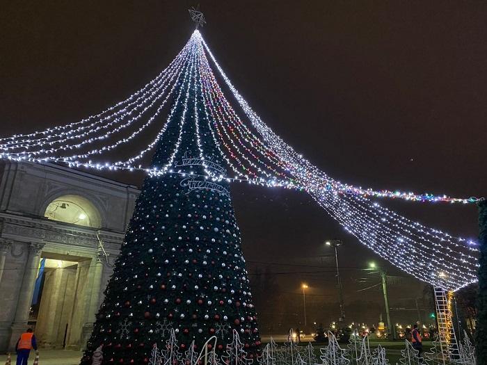 В новогоднюю ночь в Молдове ожидаются погодные аномалии