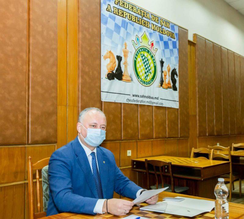 Федерация шахмат Молдовы продолжает добиваться впечатляющих результатов под руководством Игоря Додона
