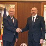 Игорь Додон поздравил Ильхама Алиева с днём рождения