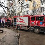 В квартире на Ботанике вспыхнул пожар (ФОТО)