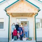 Игорь Додон помог обрести крышу над головой ещё одной семье (ФОТО)