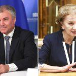Володин пригласил делегацию парламента Молдовы посетить с визитом Государственную Думу