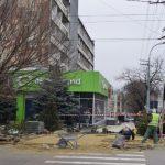Ремонт тротуаров в центре столицы завершится до Нового года