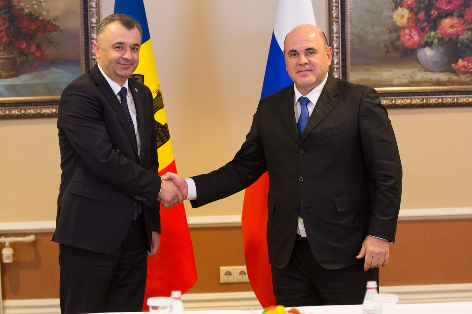 Премьер России: Рассчитываем на продолжение сотрудничества Молдовы с ЕАЭС