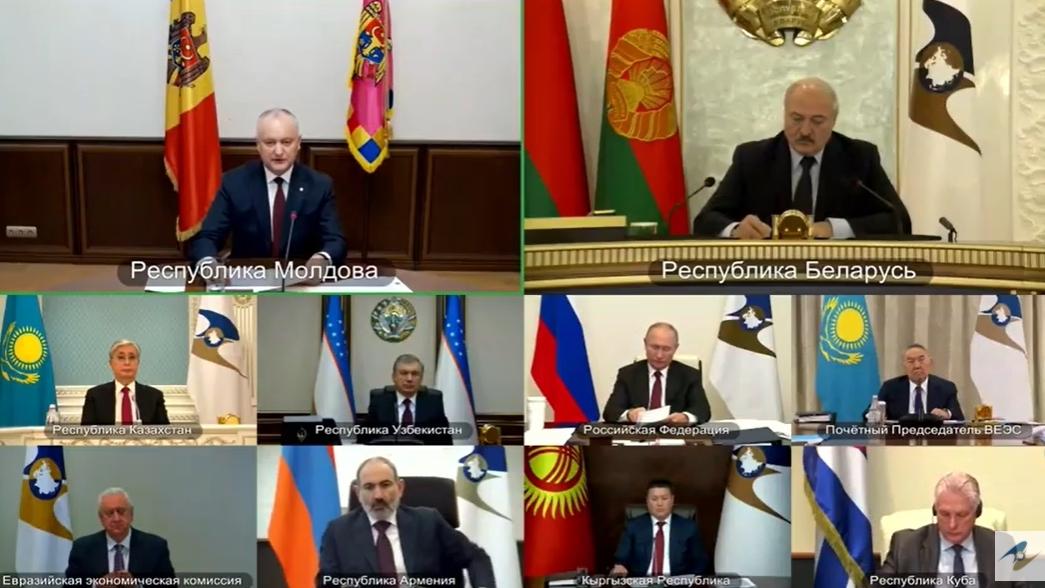 Додон: Большинство граждан Молдовы с надеждой смотрят на дальнейшее сотрудничество с ЕАЭС (ВИДЕО)