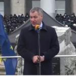 Участник митинга Санду: Причина всего зла в Молдове - Путинская Россия