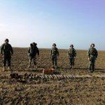 Две сотни снарядов обезвредили сапёры в ноябре