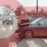 Цепное ДТП в Кишинёве: столкнулись три машины, есть пострадавший