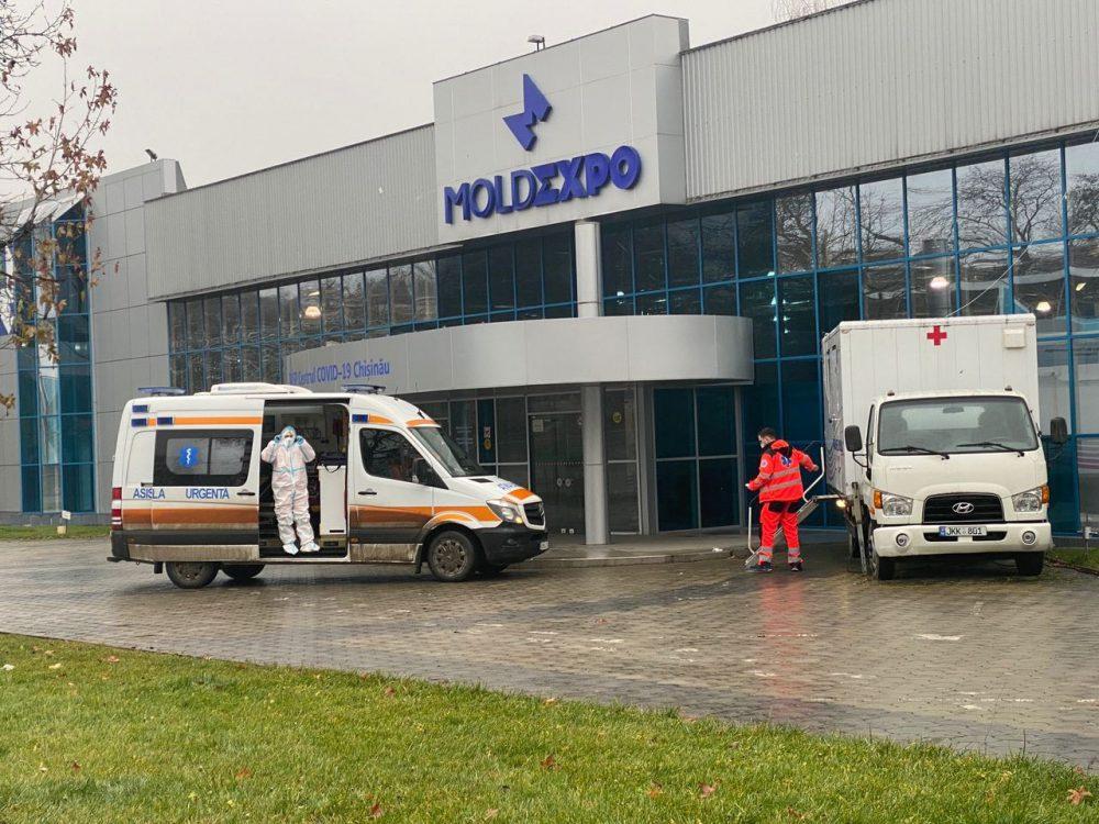 Чебан: Центр COVID-19 может вместить 340 пациентов с коронавирусом
