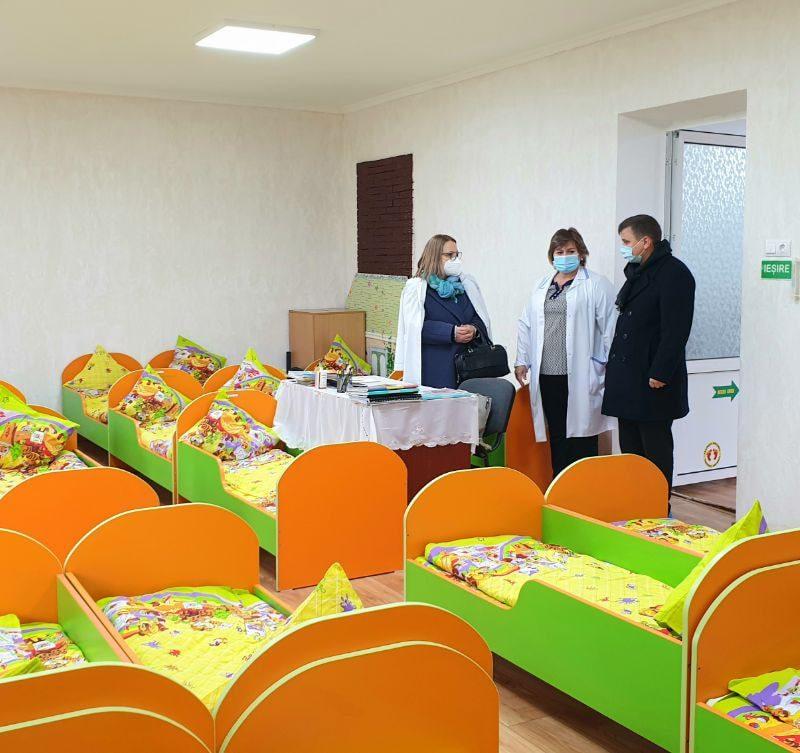 Детсад №101 в коммуне Бачой возобновил работу после капремонта
