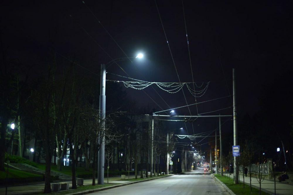 На улицах Пушкина и Бодони появилось модернизированное освещение (ФОТО)