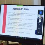 Ион Чебан обсудил с меценатами планируемые на ближайшие годы проекты для Кишинёва