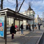 В столице продолжается установка новых остановок общественного транспорта (ФОТО)