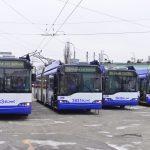 15 из 25 троллейбусов, приобретенных в Риге, прибыли в Кишинев