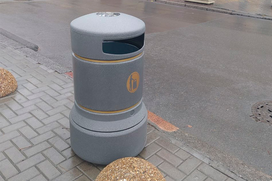 До конца года в Кишинёве установят 300 новых урн для мусора