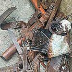 Парочка воров-рецидивистов позарилась на чужой металлолом