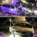 Пьяный водитель протаранил четыре автомобиля