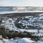 Молдова глазами Взорова. Монастырь Сахарна. Зима