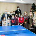 На Рождество Игорь и Галина Додон навестили с подарками воспитанников Общинного дома для детей (ФОТО)