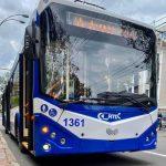 Вскоре по улицам Кишинёва будут курсировать ещё 8 новых троллейбусов