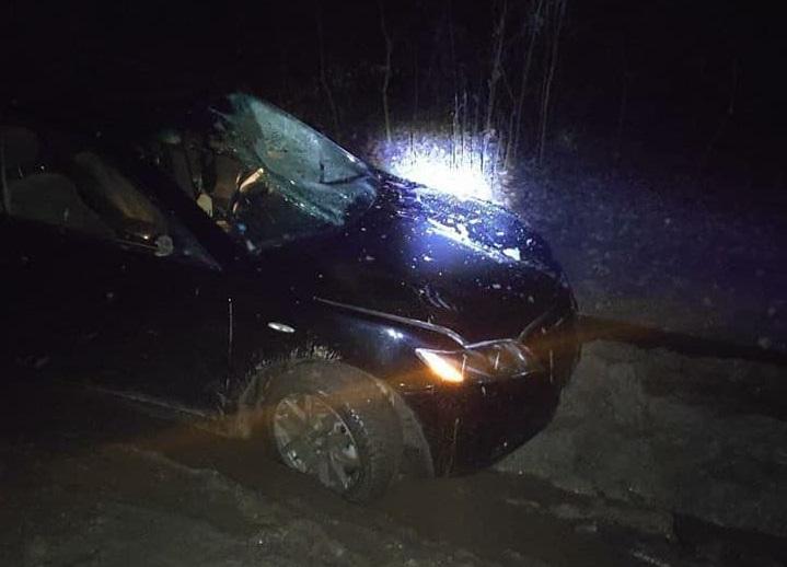 В столице автомобиль насмерть сбил женщину. Водитель скрылся с места ДТП (ФОТО)